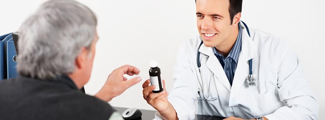 cuidado homeopático de próstata