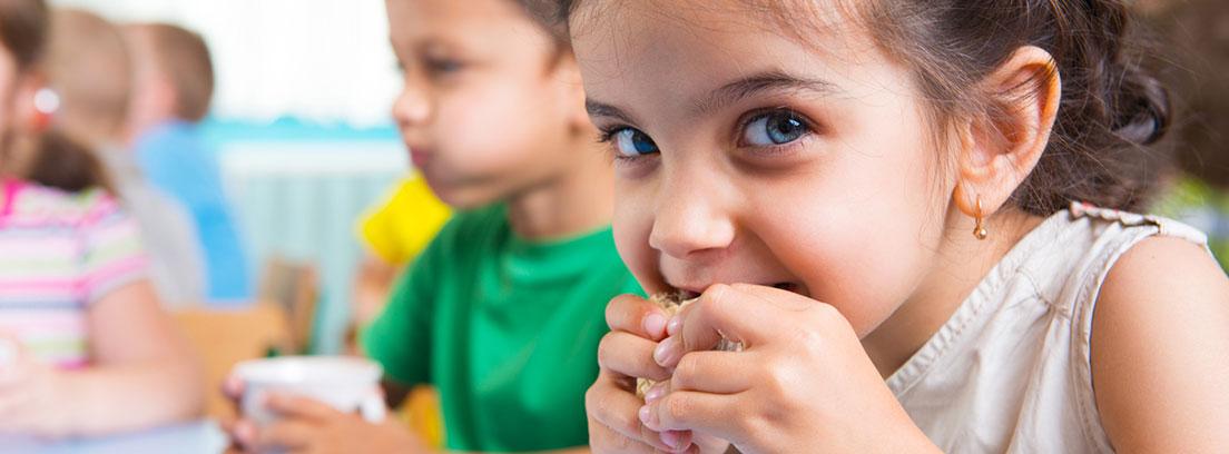 Desayunos saludables niños cole