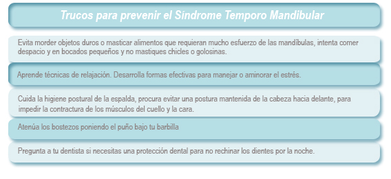 Salud dental. Reportajes de salud dental. Síndrome de tensión temporo-mandibular