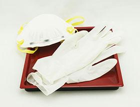 mascarilla, guantes, prevención