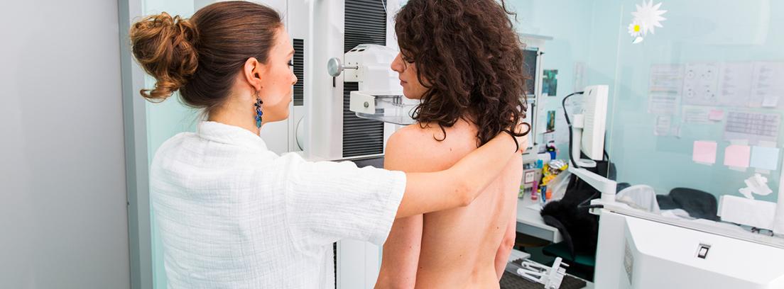 Pruebas diagnósticas ginecológicas - mamografía