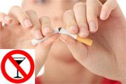 Salud Mujer. Menopausia. Información básica. Consumo de tabaco, alcohol, etc...