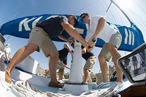 ejercicio físico en la navegación a vela