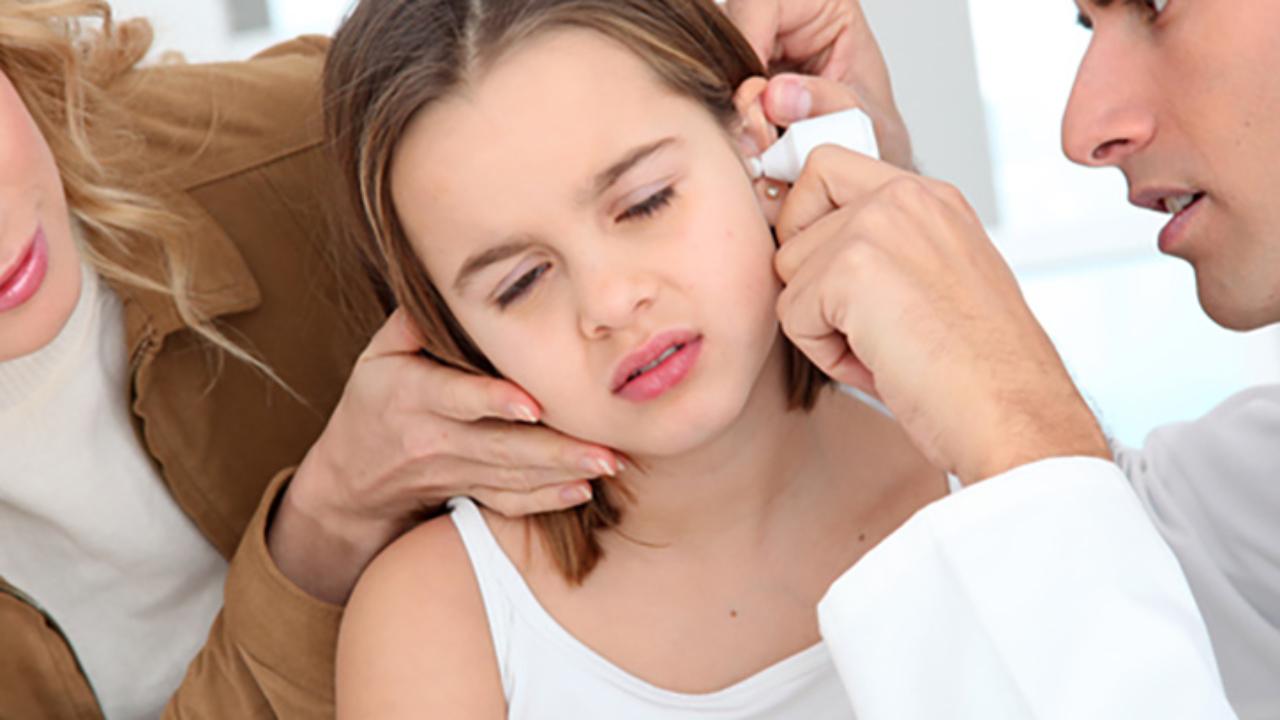 Infección del oído mal equilibrio