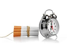Reacción dejar de fumar