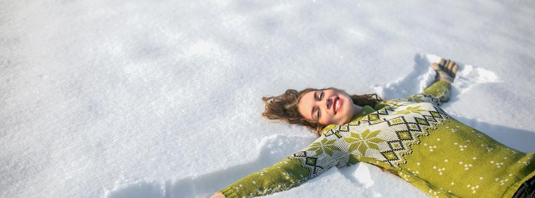 Relax en la nieve