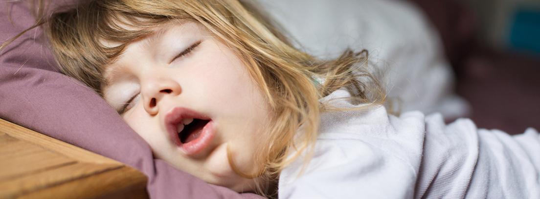 Muchos niños roncan durante el sueño. El ronquido es un sonido ...