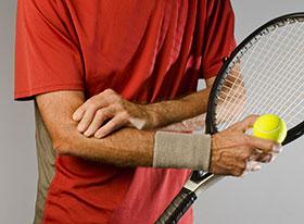 codo del tenista