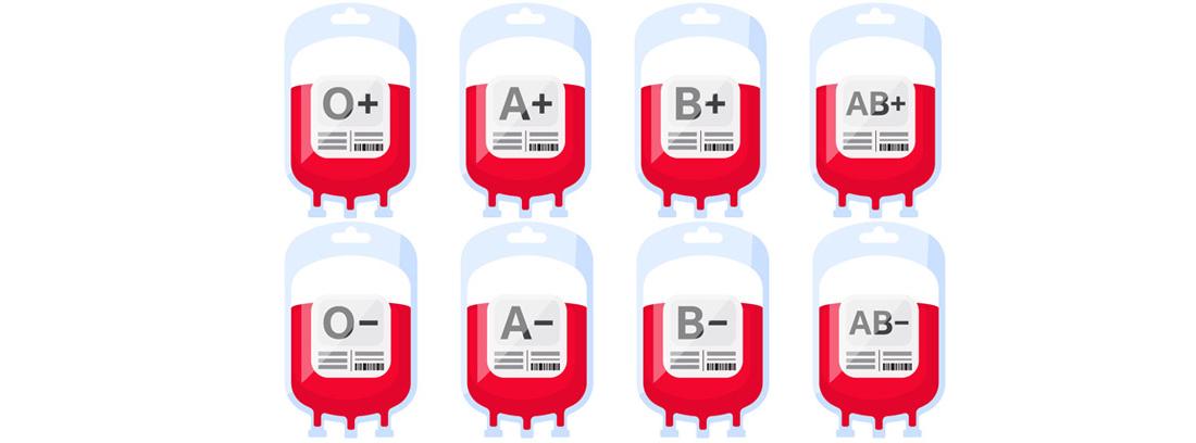tipos de grupos de sangre para donar