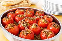 tomates con anchoa
