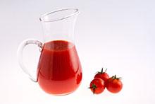nutrición y salud-zumo de tomate