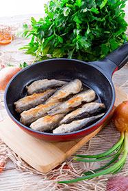 Pescado azul aporte de vitamina D
