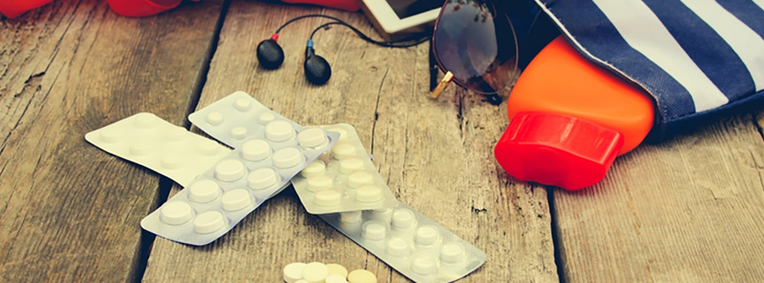 Medicinas básicas para un viaje