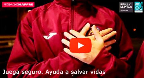 Video Juega Seguro. Ayuda a salvar vidas. Fundación MAPFRE