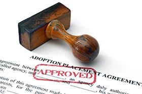 adopción aprobada