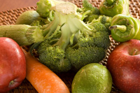frutas y verduras antioxidantes