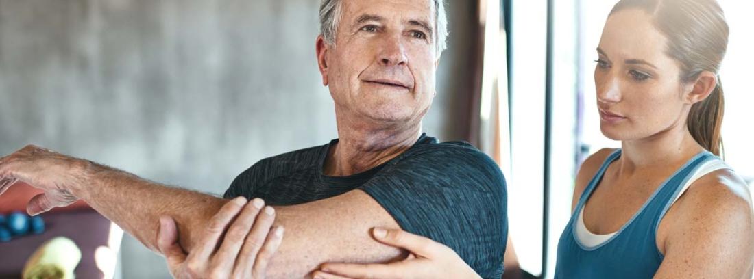 Artrosis persona mayor