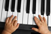 Bebé y música