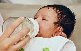 Nutrientes, minerales y vitaminas en el bebé