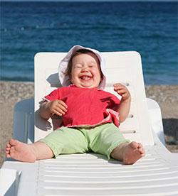Bienestar-bebés al sol-precaución