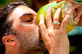 hidratación-agua de coco