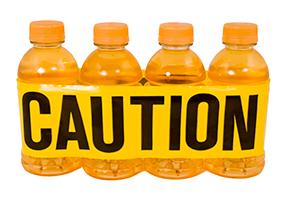 bebidas energeticas, precaución