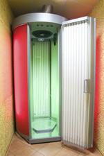 cabina de bronceado