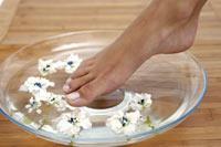 Bienestar. Cuidado de los pies en verano