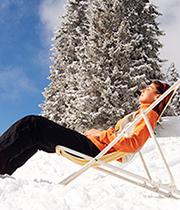 bienestar en la nieve
