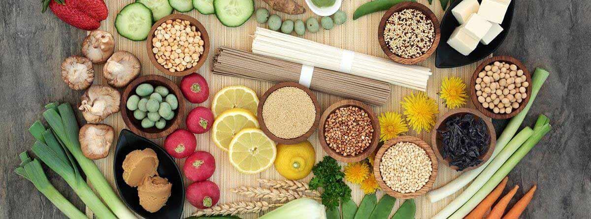 Dietas marobióticas: diferentes alimentos macrobióticos