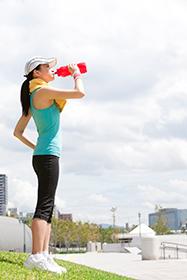 hidratación deporte y salud