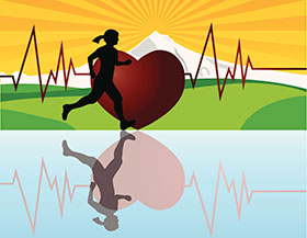 mujer-ejercicio-corazón