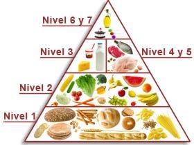 Bienestar. Hábitos de vida saludable. Hábitos de vida saludable I. Pirámide de la alimentación saludable