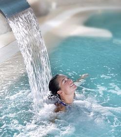 Agua en balneario