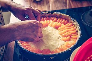 cocina casera, tarta de naranja