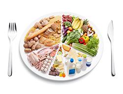 comida con proteinas