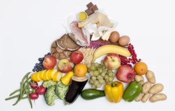 piramide alimentos y caracteristicas nutricionales