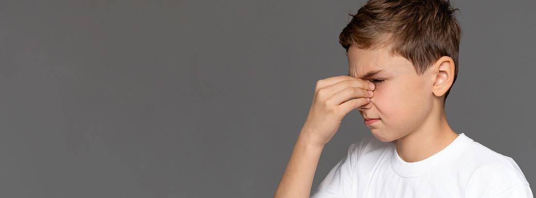 Vegetaciones: niños con molestias en la nariz