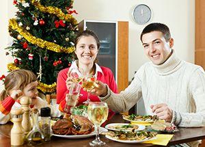 nutrición bebes en navidad