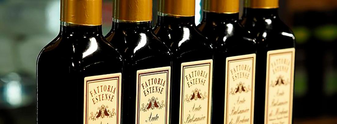 variedad de vinagres