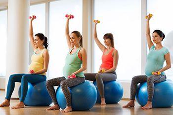 mujer-ejercicio en el embarazo