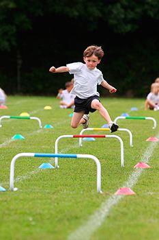 Deporte de fuerza en niños