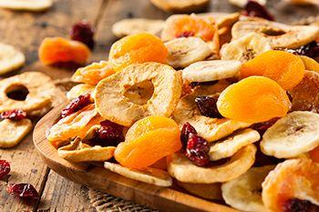 Nutrición y salud - Reportajes - Alimentos saludables - frutas deshidratadas