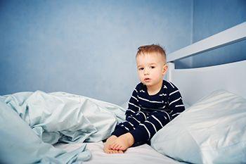 Niño- enfermedades del niño - la borrachera del sueño