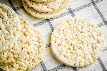 Nutrición y salud - creencias dietéticas - tortitas de arroz