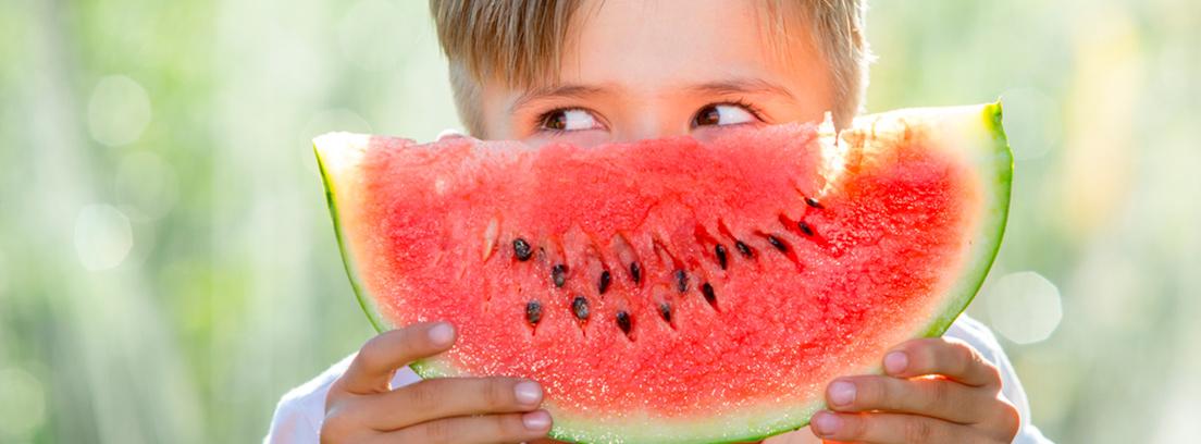 cómo hacer que los niños coman fruta y verdura