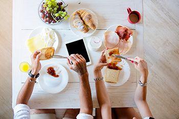 rituales matutinos - desayuno