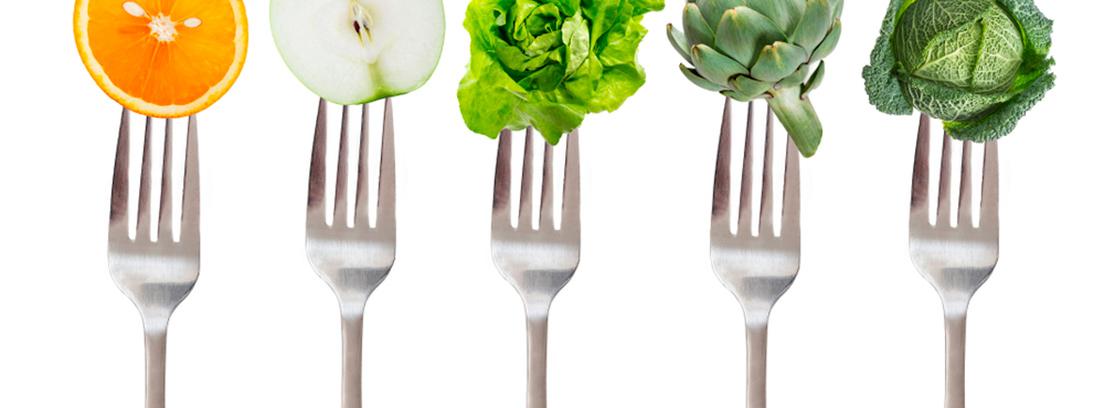 Hábitos saludables - 5 al día