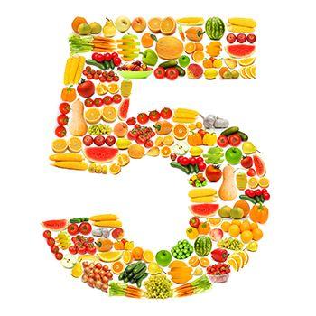 Cuerpo y mente - Hábitos saludables - 5 al día ¿cómo alcanzar esta cifra?