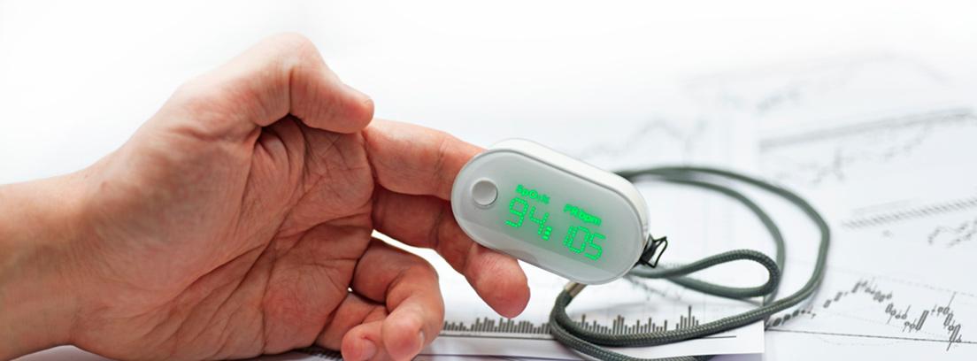 Pulsioximetría - prueba diagnóstica